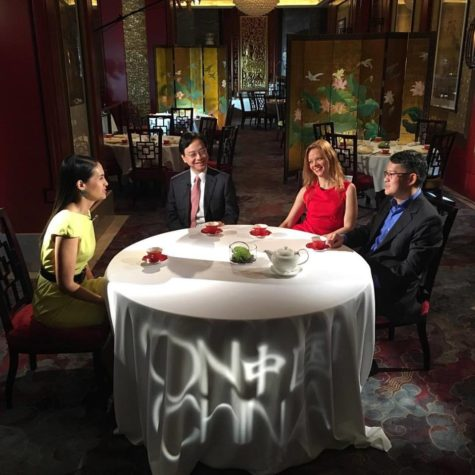 "Taping of CNN International's ""On China"": Discussing Chinese science"