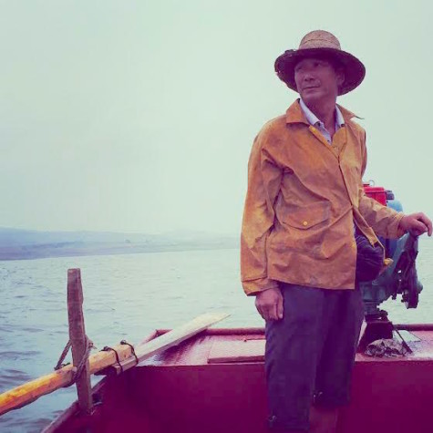 Cao Suizhou, a fisherman on the Danjiangkou reservoir: Photo by Christina Larson